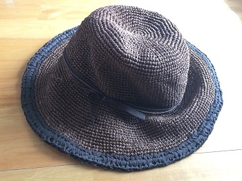 ベルメゾン麦わら帽子