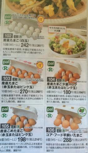 パルシステム卵値段