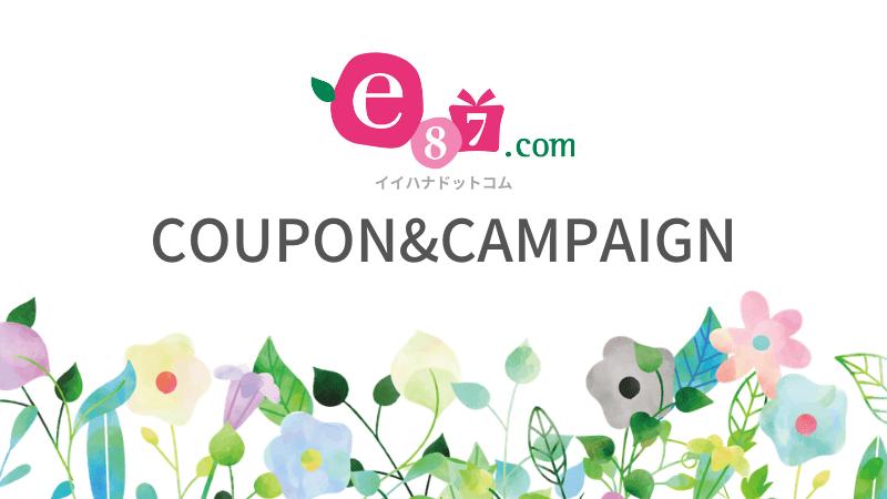 e87.com(イイハナ・ドットコム)のクーポン